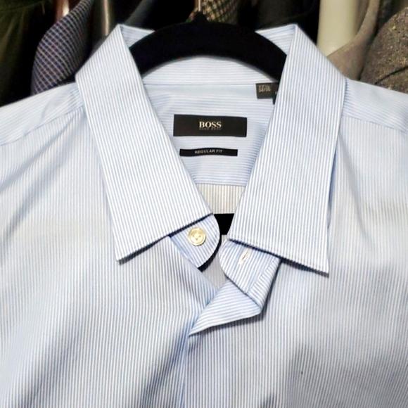 BRAND NEW BOSS MENS DRESS SHIRT
